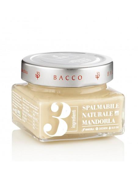 Crema 3 ingredienti alle mandorle con olio EVO 150 gr