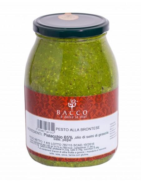 Pesto di pistacchio 65% con olio di semi Max 1 kg