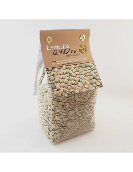 Lenticchie di Villalba Presidio Slowfood 400 gr