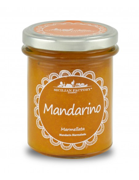 Marmellata mandarino 240 gr