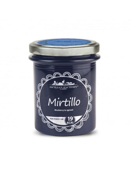Confettura Mirtillo senza zucchero 240 gr