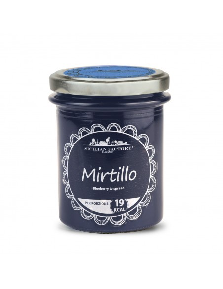 Confettura Mirtillo Sicilian Factory 240 gr