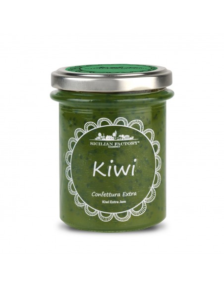 Confettura Extra di Kiwi Sicilian Factory 240 gr