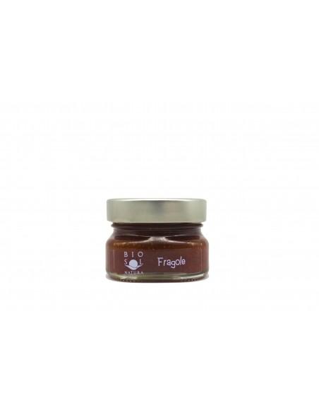 Confettura extra fragole biologica 100 gr