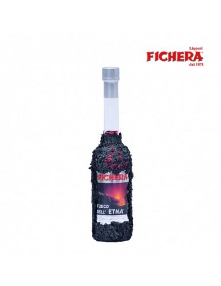 Liquore Fuoco dell'Etna con lava 50% 100 ml