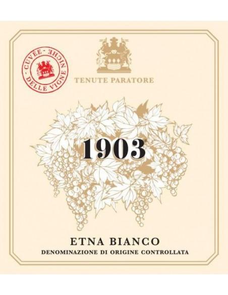 1903 Etna Bianco 2017 DOC 13% 75 cl