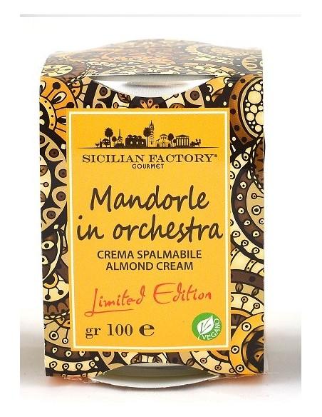 Crema mandorle in orchestra Sicilian Factory 100 gr