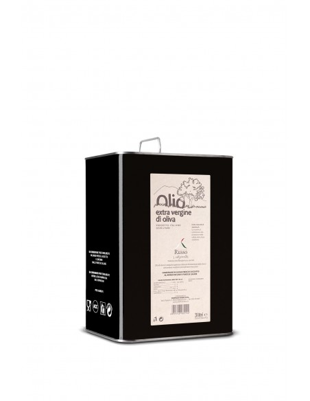 Olio Extravergine Linea Frantoio Nocellara dell'Etna Latta 3 lt