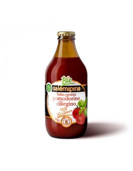 Salsa pronta di pomodoro ciliegino biologico 330 gr