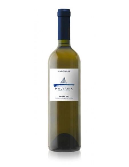Bianco Salina Malvasia Secco Caravaglio 2018 IGP 12,5% 75 cl