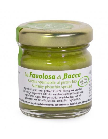 Crema al pistacchio La Favolosa di Bacco 40 gr