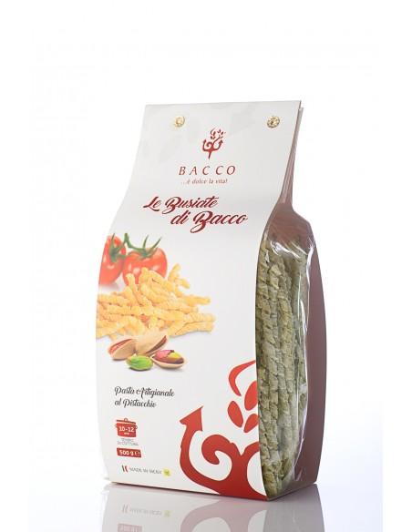 Le Busiate di Bacco pasta al pistacchio 500 gr
