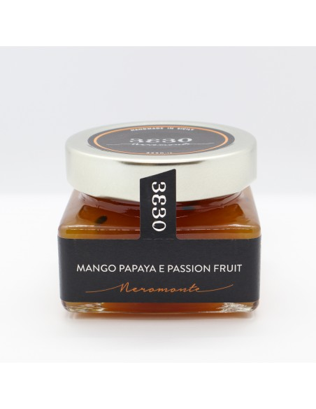 Mango papaya e passion fruit 160 gr