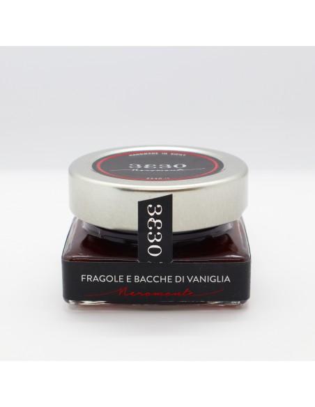 Confettura di Fragole e bacche di vaniglia 60 gr
