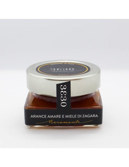 Marmellata Arance amare e miele di zagara 60 gr