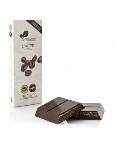 Cioccolato di Modica caffè 100 gr