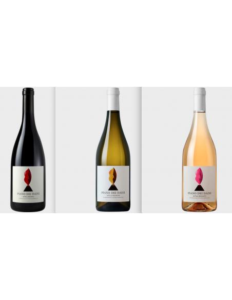 L'Etna di Tenute Bosco Selezione completa 3 bottiglie 75 cl