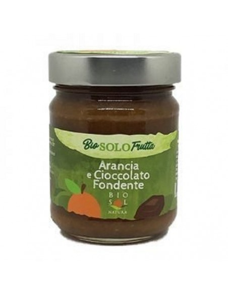 Marmellata Arancia e Cioccolato fondente 230 gr