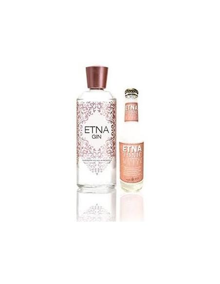 Etna Gin 70 cl 40% e Etna Tonic Acqua Tonica 200 ml