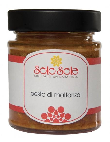 Pesto di mattanza SoloSole 180 gr