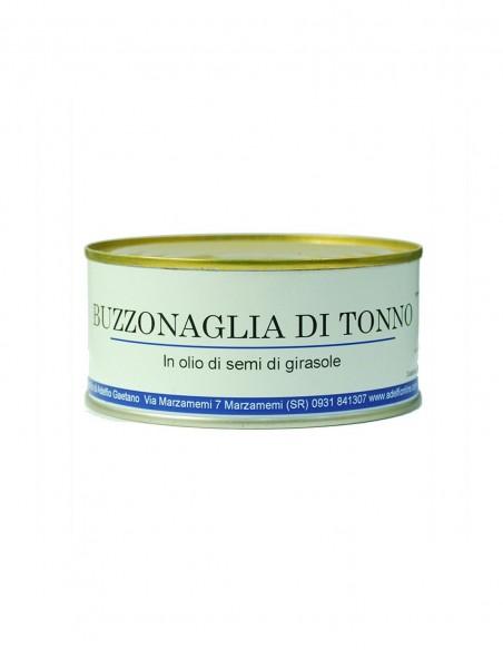 Buzzonaglia di tonno all'olio di semi in latta 300 gr