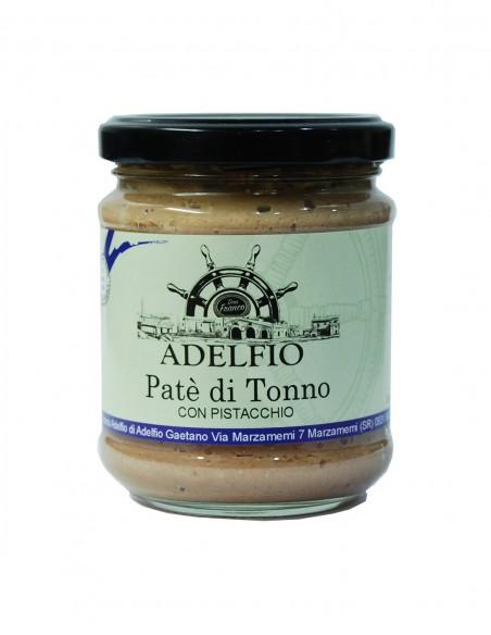 Patè di tonno con pistacchio 200 gr