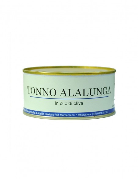 Tonno Alalunga all'olio d'oliva latta 300 gr