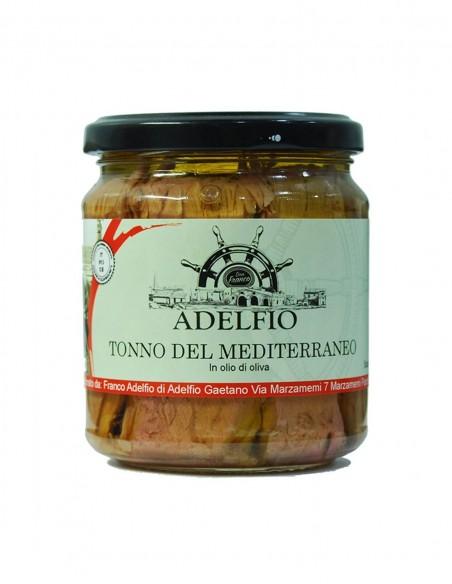 Tonno del Mediterraneo all'olio d'oliva 200 gr