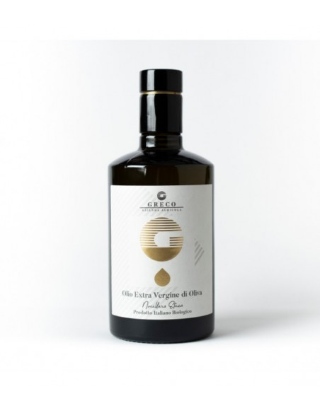 Greco Olio Extravergine di Oliva biologico 50 cl