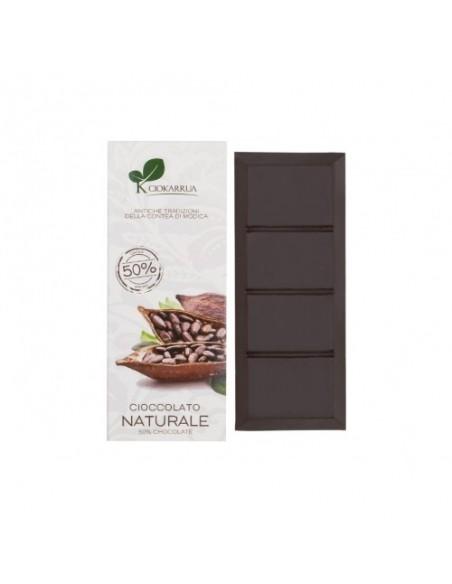 Cioccolato di Modica 50% 100 gr