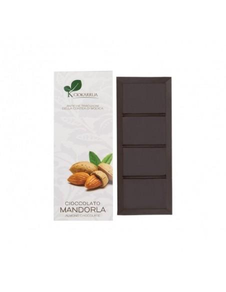 Cioccolato di Modica alla mandorla 50% 100 gr