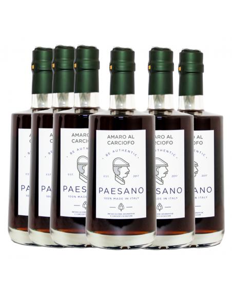 Box Paesano Amaro al carciofo 28% 50 cl