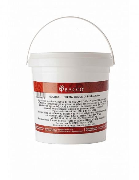 Crema di pistacchio 3 ingredienti con olio EVO 1 kg