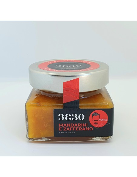 Marmellata di mandarini e zafferano 160 gr Limited Edition