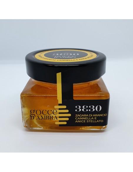 Miele di Zagara di arancio cannella e anice stellato 160 gr