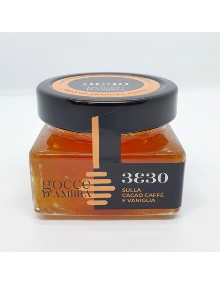 Miele di Sulla cacao caffè e vaniglia 160 gr
