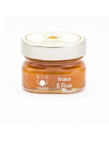 Marmellata arance e rhum biologica 100 gr