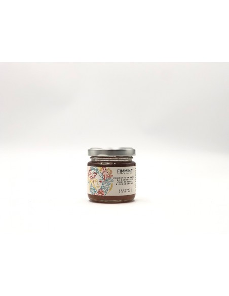 Confettura extra di Cantalupo con Zenzero e Peperoncino 100 gr