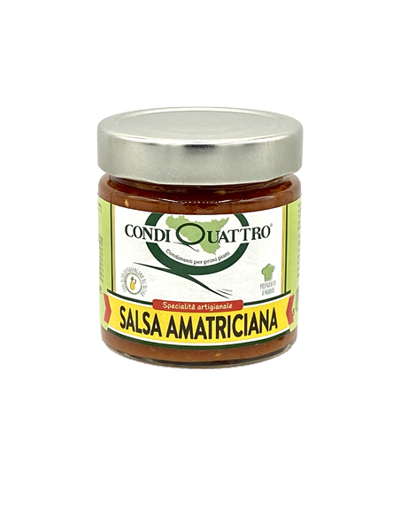 Salsa Amatriciana con olio EVO 200 gr