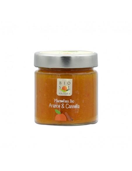 Marmellata arance e cannella Biosolnatura 240 gr