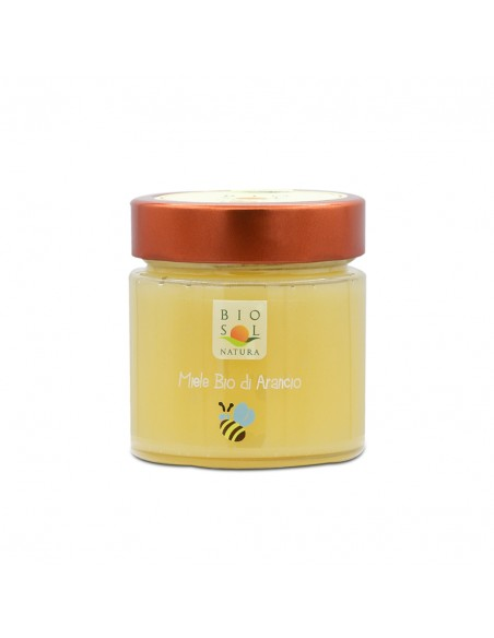 Miele di arancio biologico Biosolnatura 300 gr