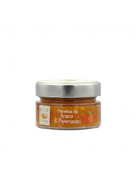 Marmellata arance e peperoncino biologica 100 gr