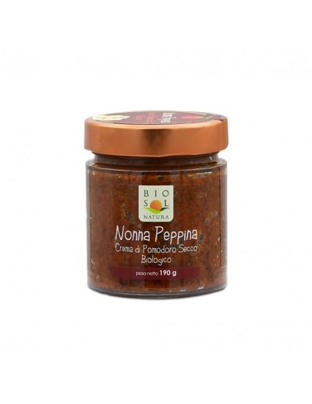 Crema di pomodoro secco biologico Nonna Peppina 190 gr