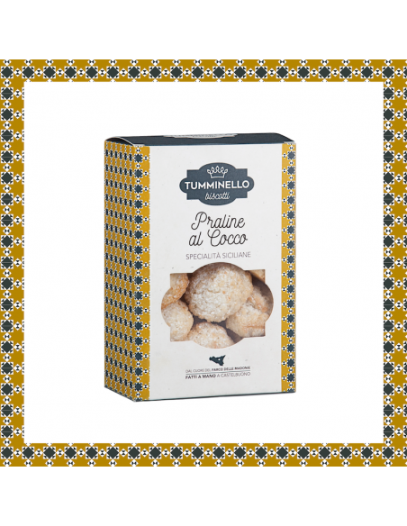 Praline al Cocco Tumminello biscotti 270 gr