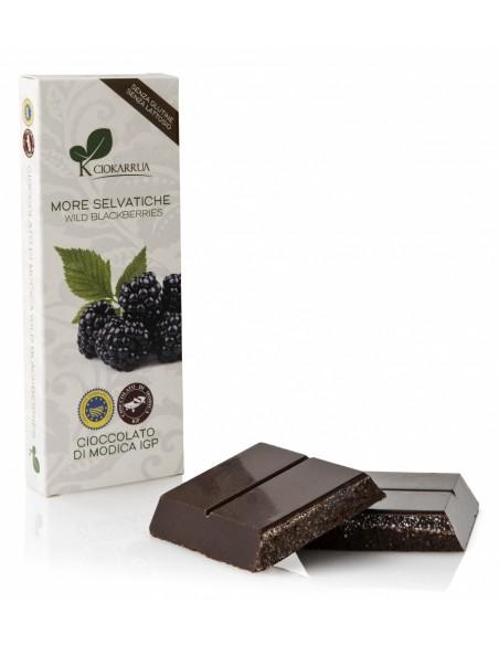 Cioccolato di Modica More Selvatiche 100 gr