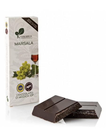 Cioccolato di Modica Marsala 100 gr