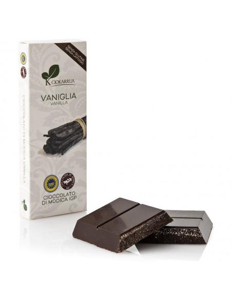 Cioccolato di Modica Vaniglia 100 gr