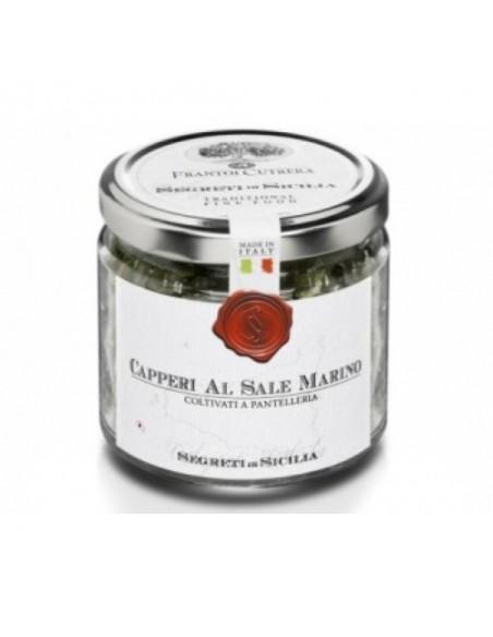 Capperi siciliani al sale marino 150 gr