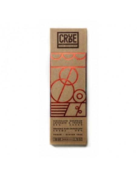 Crude cioccolato biologico 80% 50 gr