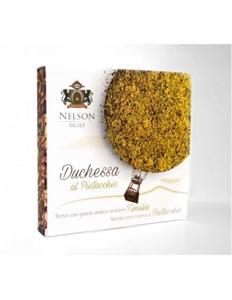 Duchessa al pistacchio con grano antico siciliano Timilia 500 gr
